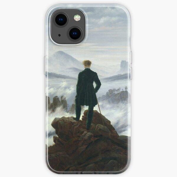 CASPAR DAVID FRIEDRICH (-  ), THE WANDERER ABOVE THE SEA OF FOG iPhone Soft Case