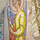The Mottisfont Angel (mosaic by MisterD
