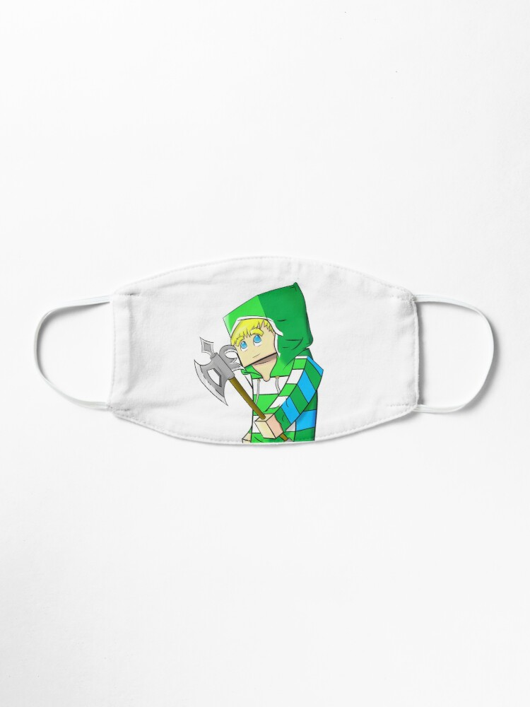 Minecraft Avatar With Axe Mask By Snowyturtle Redbubble So in this intractable i will show you how to make a minecraft axe. minecraft avatar with axe mask by snowyturtle redbubble