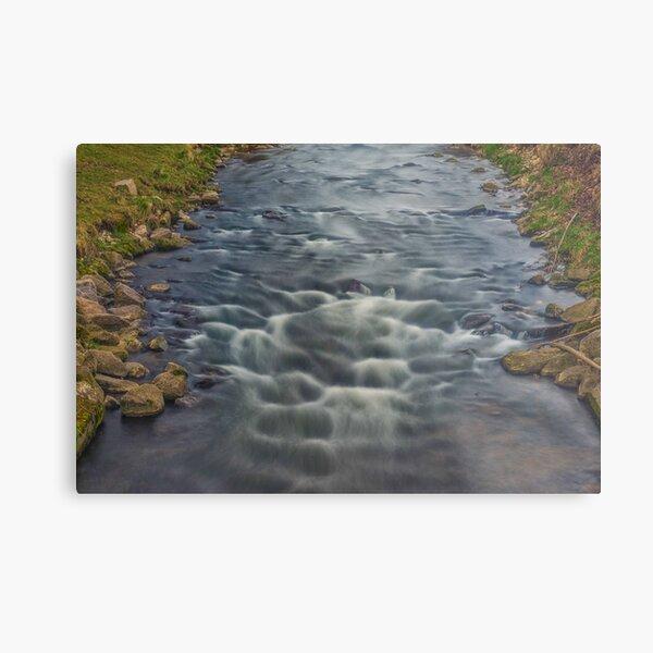 Rapids in the River Steinlach, Tübingen Metal Print