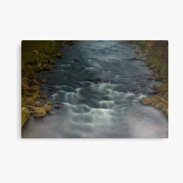 Rapids in the River Steinlach, Tübingen 2 Metal Print