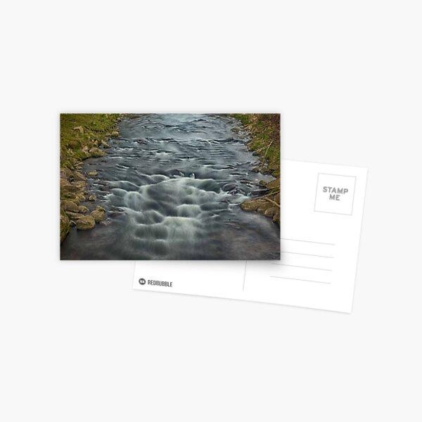 Rapids in the River Steinlach, Tübingen 3 Postcard