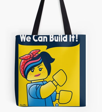 WE CAN BUILD IT! Tote Bag