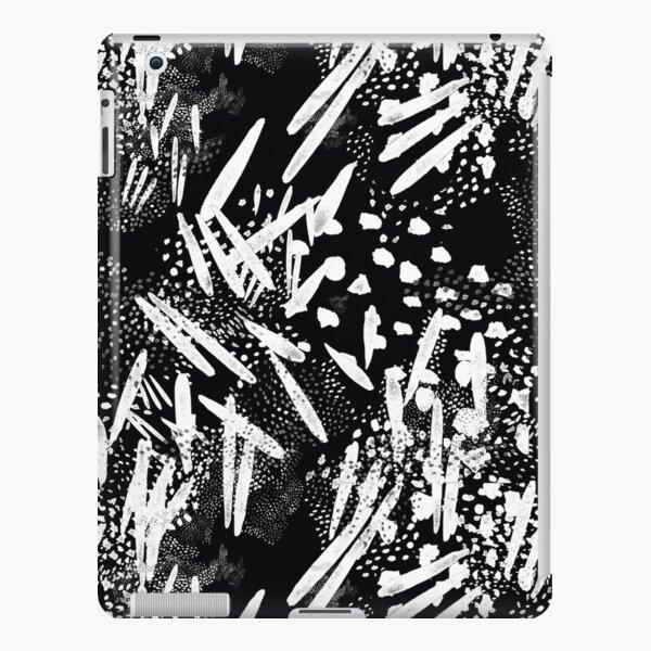 Seed pattern black iPad Snap Case