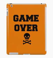 Game Over Skull & Crossbones iPad Case/Skin