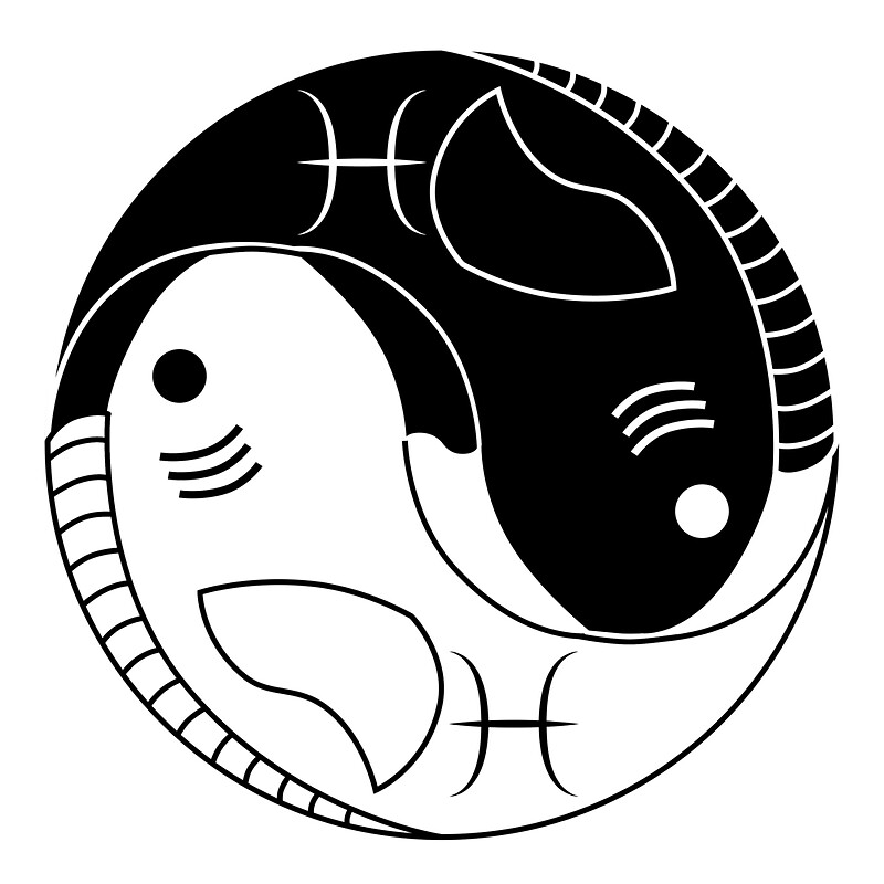 Yin yang pisces fish posters by lucid reality redbubble yin yang pisces fish by lucid reality sciox Gallery