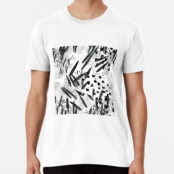 Seed pattern white Premium T-Shirt