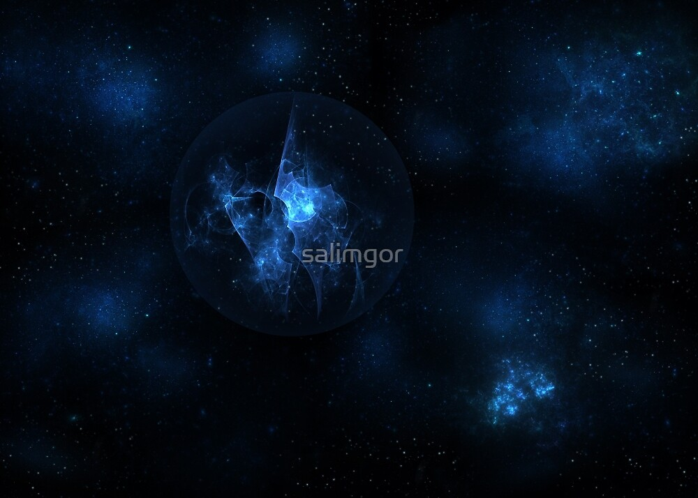 The abstract sphere by salimgor