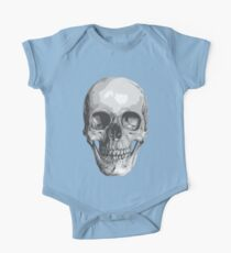 Human Skull One Piece - Short Sleeve