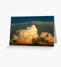 BEAUTIFUL STORM CLOUDS Greeting Card
