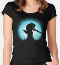 GRAVESTONE GUARDIAN Women's Fitted Scoop T-Shirt