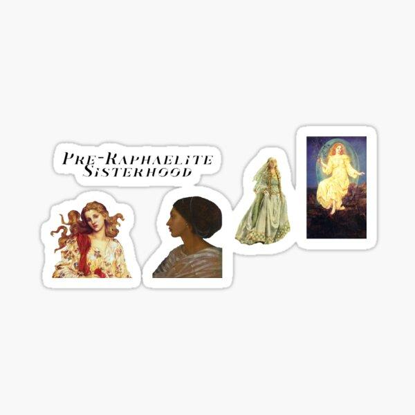 Pre Raphaelite Sisterhood Sticker Sheet Sticker