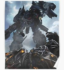 Power Up optimus prime Poster