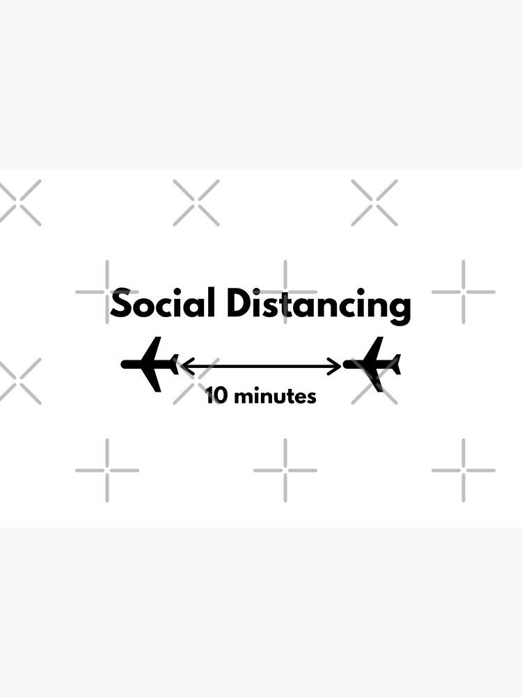 My Kind of Social Distancing - Airplanes Flying by jetmike