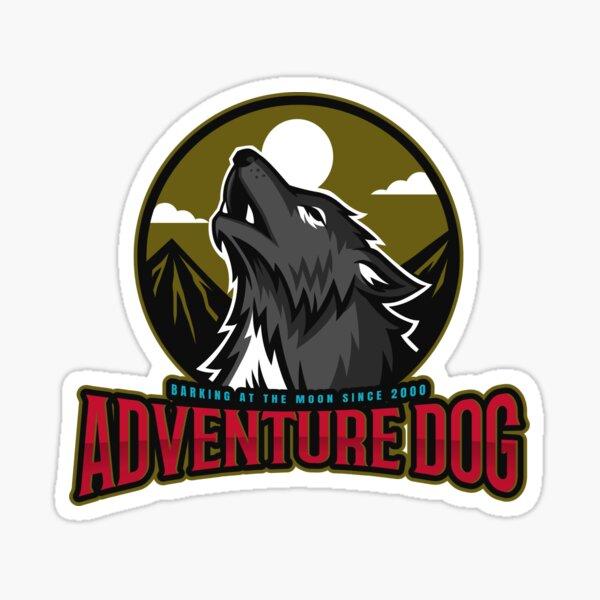 Adventure Dog Sticker