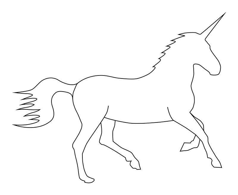 73 Easy Unicorn Coloring Pages Large Printable Pdf
