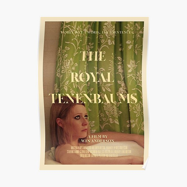 the royal tenenbaums Poster