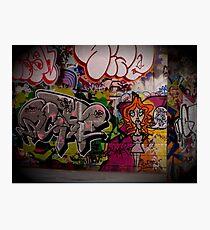 Graffiti, London, England | Wacky Photographic Print