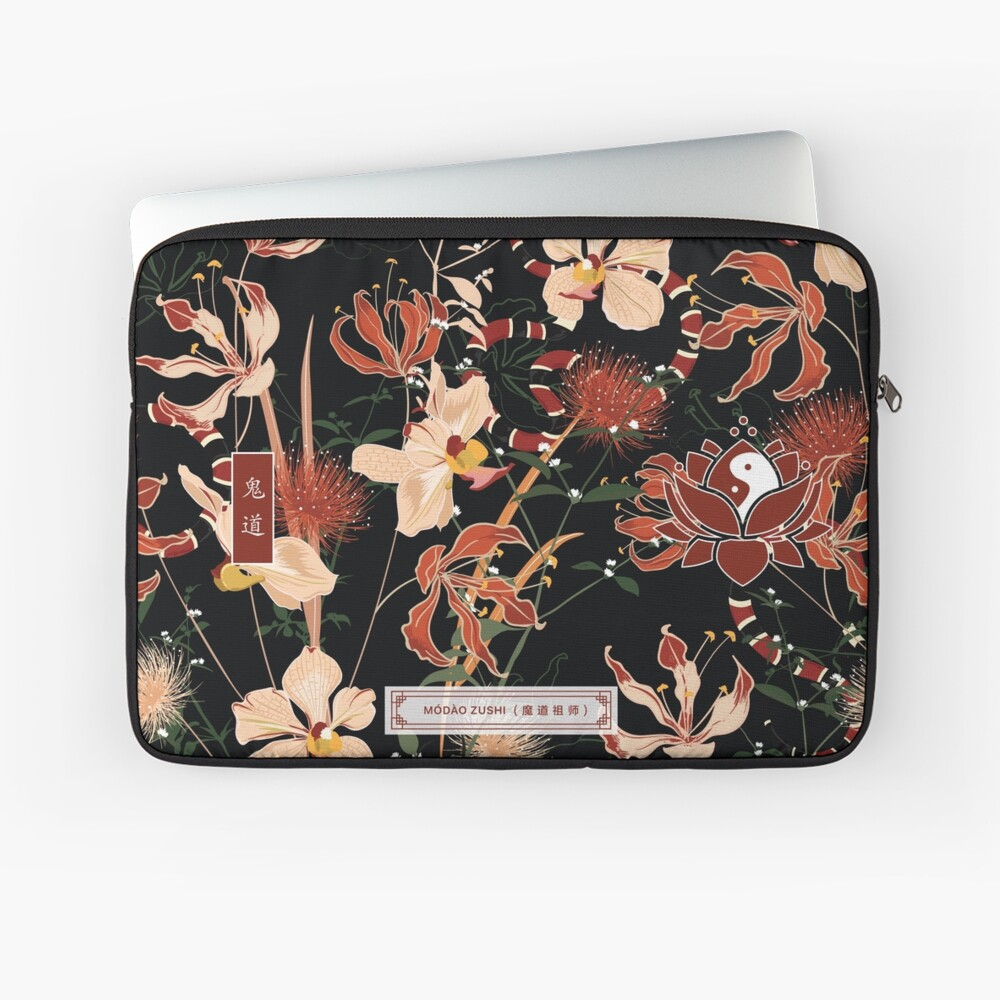 Modao Zushi Demon Cultivation Path Mask  Laptop Sleeve