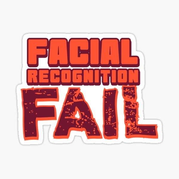 Facial Recognition Fail Sticker