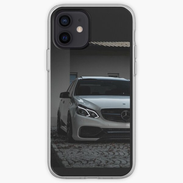 Mercedes E63 w212 Coque souple iPhone