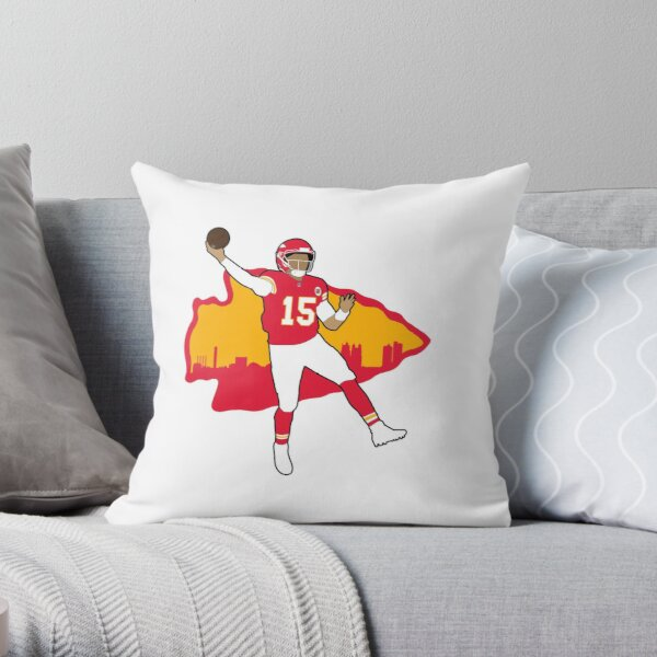 Mahomes #15 Throw Pillow