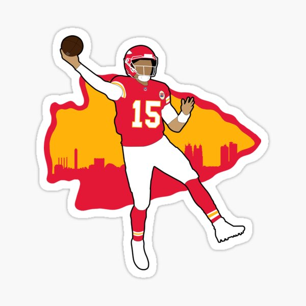 Mahomes #15 Sticker