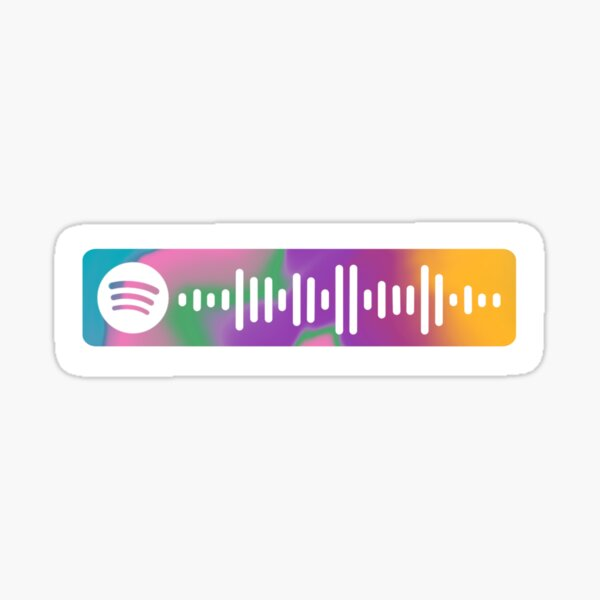 Bts Spotify Scan Code Stickers | Redbubble