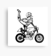 Women Who Ride - Ballerina  Metal Print