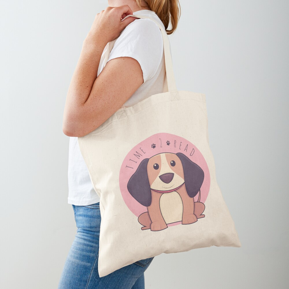 TIME 2 READ Tote Bag