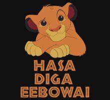 Hasa Diga Eebowai Lion King | Unisex T-Shirt