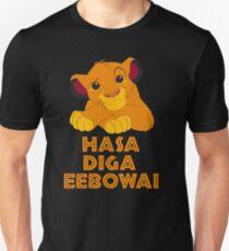 Hasa Diga Eebowai Lion King Unisex T-Shirt
