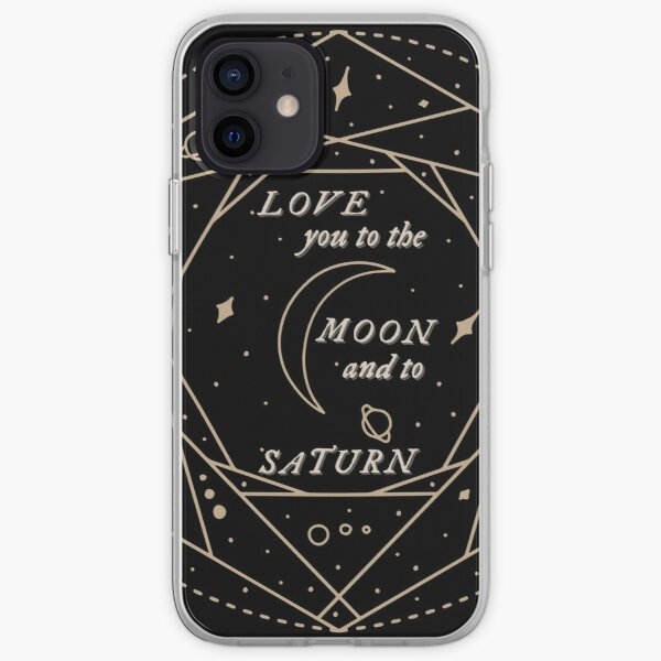 folklore seven Taylor Swift lyrics love you to the moon iPhone Soft Case