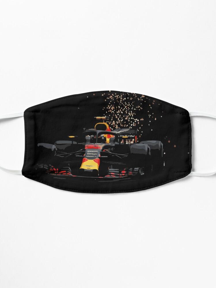 Masque ''Max Verstappen - Redbull Monaco': autre vue