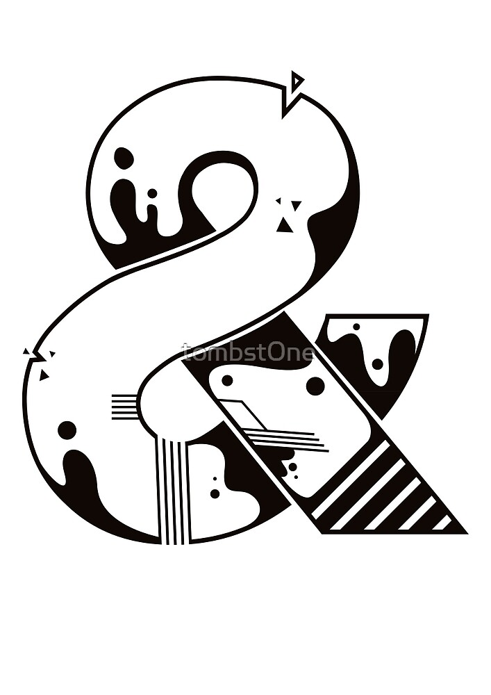 Ampersand by tombst0ne
