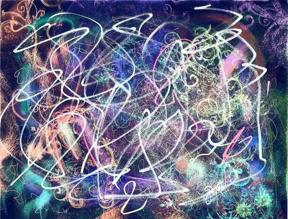 Scribble Glow by BlipBlopMadness