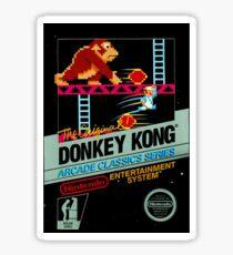 nes donkey kong Sticker