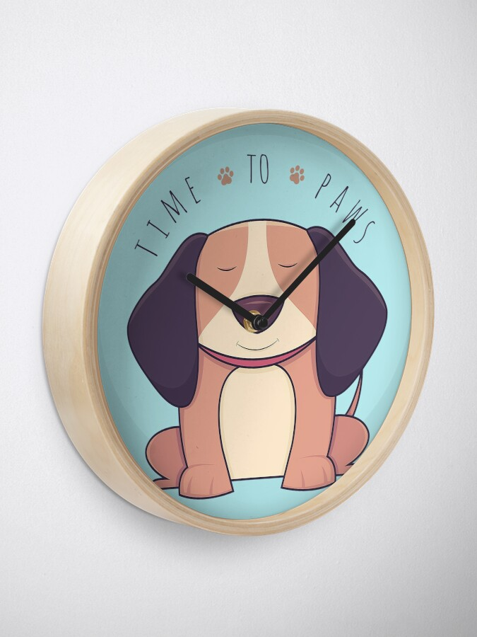 Alternate view of TIME 2 PAWS Clock