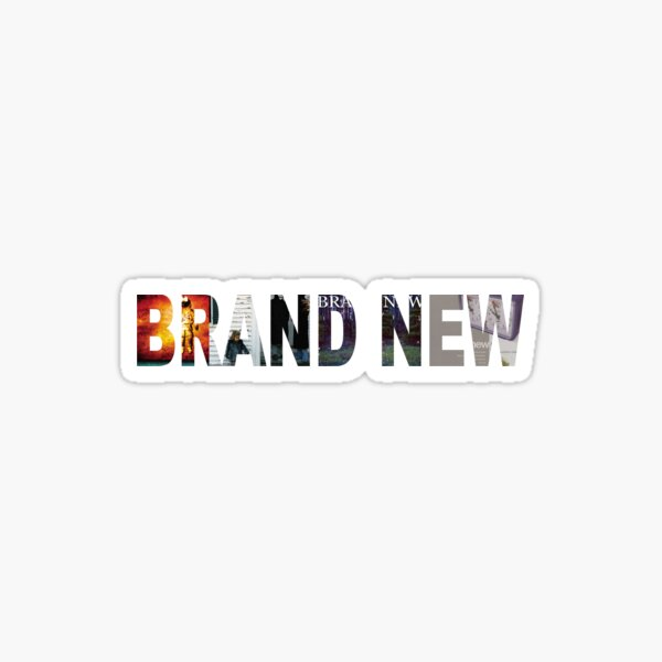 BRAND NEW BAND  Sticker