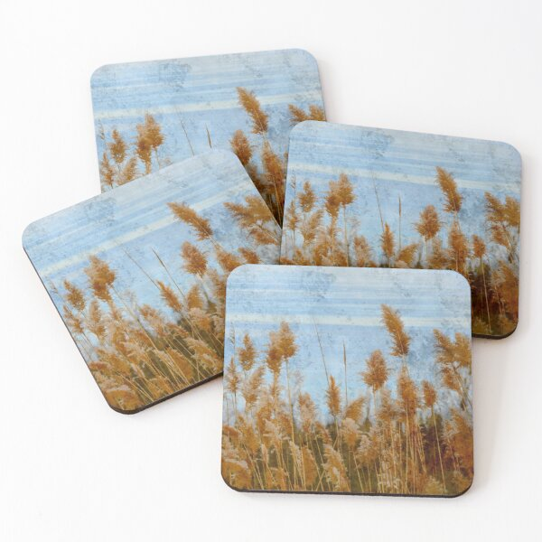 the blue of longing Coasters (Set of 4)