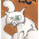 Dirk Strangely's ANGE LE CHAT by Dirk Strangely