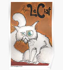 Dirk Strangely's ANGE LE CHAT Poster