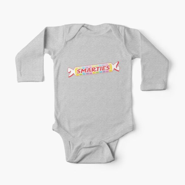 SMARTIES - Retro Candy Long Sleeve Baby One-Piece