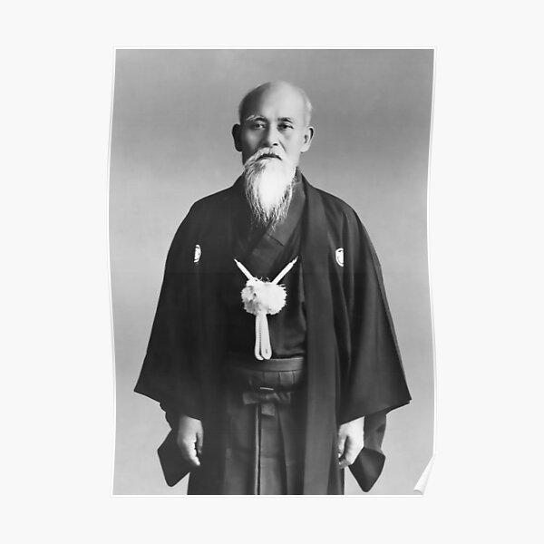 O Sensei Morihei Ueshiba, Aikido Dojo Shomen Poster
