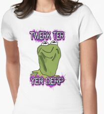 Kermiderp Women's Fitted T-Shirt