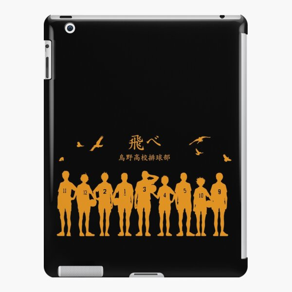 Haikyuu!! - Karasuno black/orange iPad Snap Case