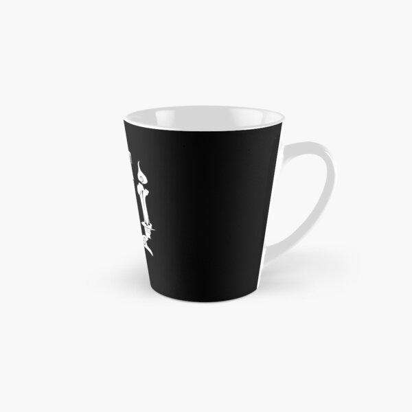Fright Night NOLA Logo noir sur blanc. Mug long