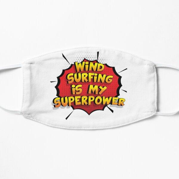 Wind Surfing ist mein Superpower Lustiges Wind Surfing Designgeschenk Flache Maske