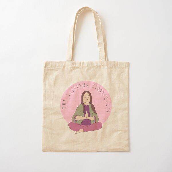 The Sleeping Storyteller Cotton Tote Bag
