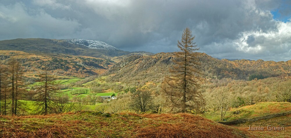 Above Yewdale by Jamie  Green